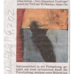 Austellung städtische Galerie 2002